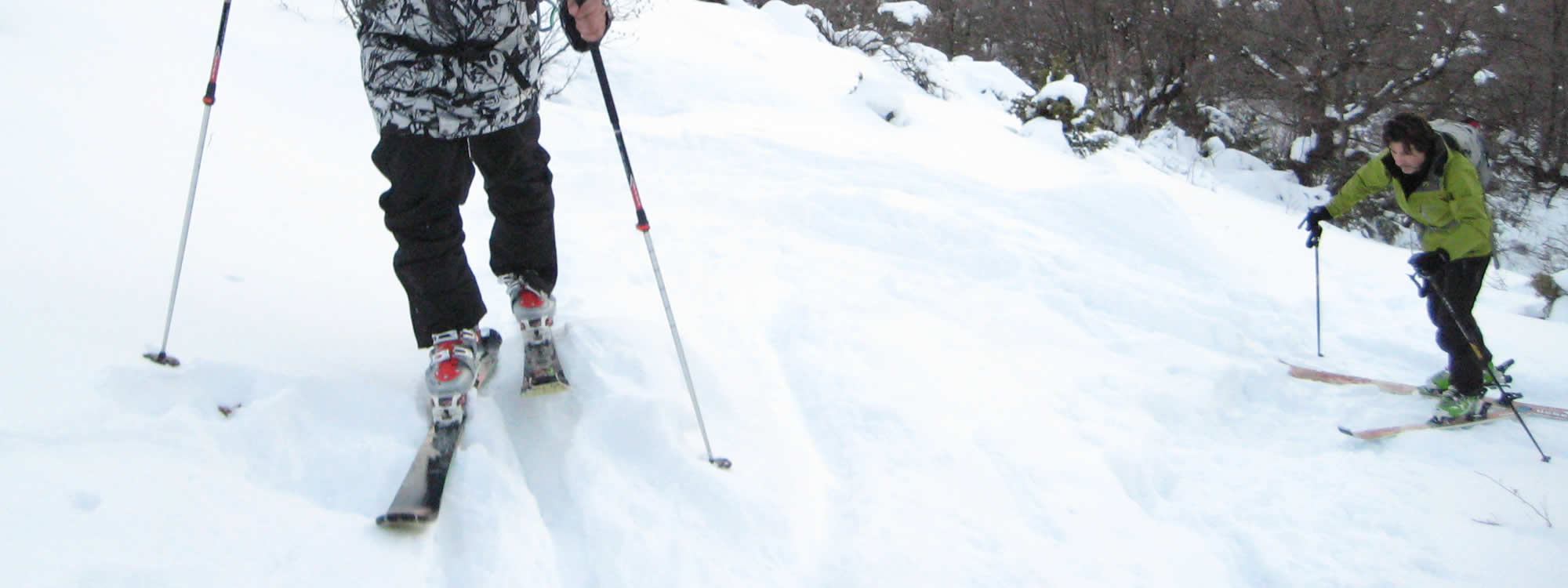 Come and Mountain (touring) ski in inaccessible slopes beneath the imposing towers of Astrakas alpine plateaus of Vikos-Aoos Geopark, Pindus